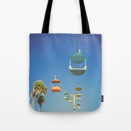 Santa Cruz Boardwalk Gondolas II Tote Bag