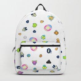 tamagotchi cute pattern Backpack