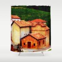 italian Shower Curtains featuring ✔️Italian Farmhouse by Tru Artwear