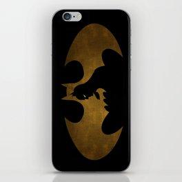The dark man iPhone Skin