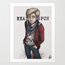 Headspun Art Print