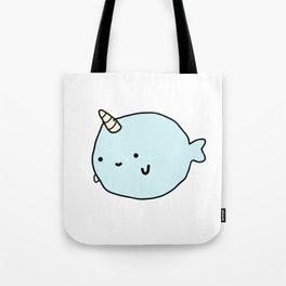 Fun and Cute Narwhal Tote Bag
