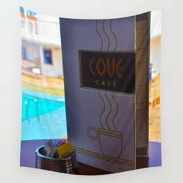 The Cove Cafe Wall Tapestry