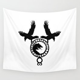 Raven - Fenrir Wall Tapestry