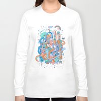 kpop Long Sleeve T-shirts featuring George's place by Polkip