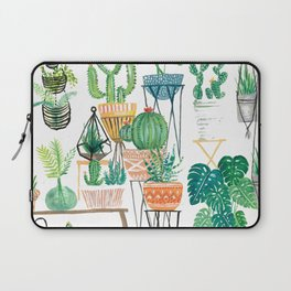 Potted Jungles Laptop Sleeve