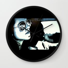 Down The Road Back Home Wall Clock