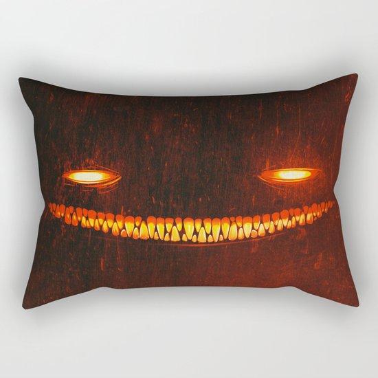 Smile (Red) Rectangular Pillow