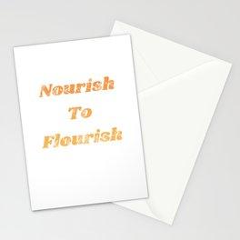 Nourish To Flourish Stationery Cards