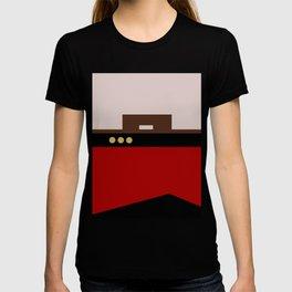 William Riker - Minimalist Star Trek TNG The Next Generation - Commander - startrek - Trektangles T-shirt