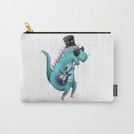 Rockstar Dino Illustr Carry-All Pouch