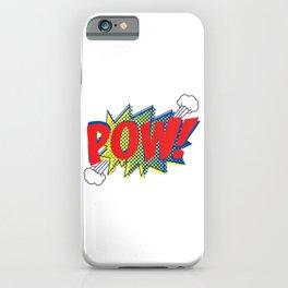Pow! iPhone Case