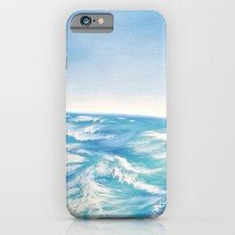 Gentle Waves iPhone Case
