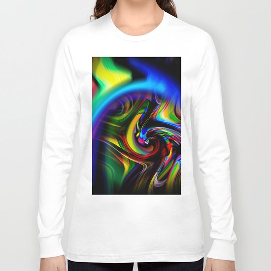 Abstract Perfection 19 Long Sleeve T-shirt