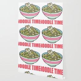 I Love Noodle Kawaii Artwork Wallpaper