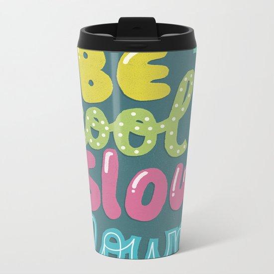 BE COOL Metal Travel Mug