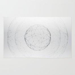 Minimal geometric circle II Rug