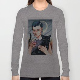 Girl's Night In Long Sleeve T-shirt