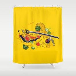 Kill Fruit Shower Curtain
