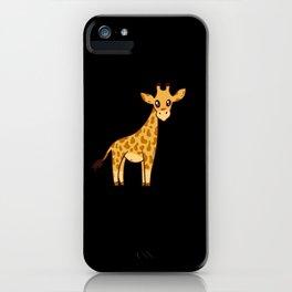 Giraffe Gift Cute Baby iPhone Case