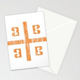 Byzantine Cross Stationery Cards