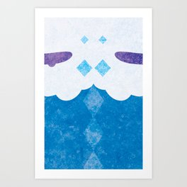 584 Art Print