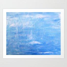 Sea Turbines Art Print