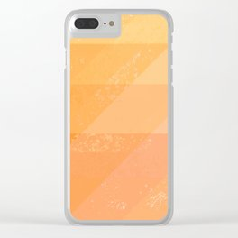 Sun Dragon Scales Clear iPhone Case
