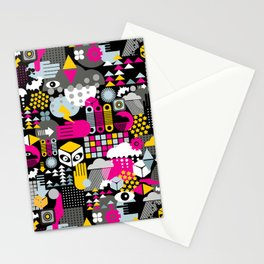 Abstract. Stationery Cards