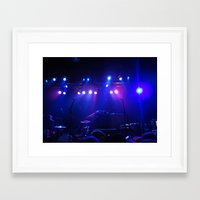 concert Framed Art Prints featuring Concert by Sarah Sugarman