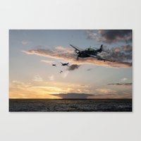 avenger Canvas Prints featuring Avenger by Airpower Art