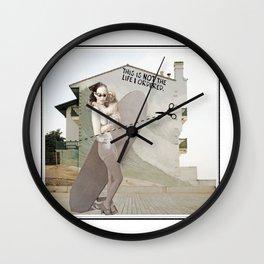 _LIFE Wall Clock