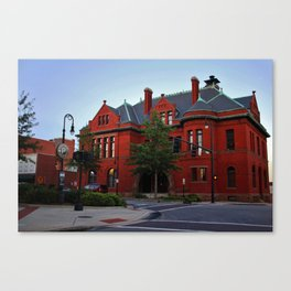 Old City Hall Building Canvas Print