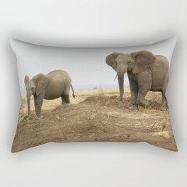 Elephant friends Rectangular Pillow