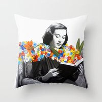 books Throw Pillows featuring Books by Ben Giles