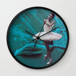 Ballet On The Brain Wall Clock