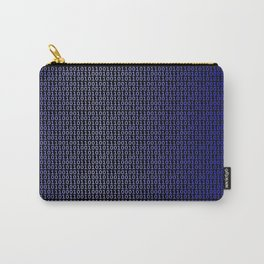 Binary Blue Carry-All Pouch
