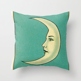 Luna Tarot Throw Pillow