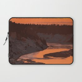 Twin Falls Gorge Territorial Park Laptop Sleeve