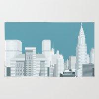 manhattan Area & Throw Rugs featuring Manhattan by mauromod