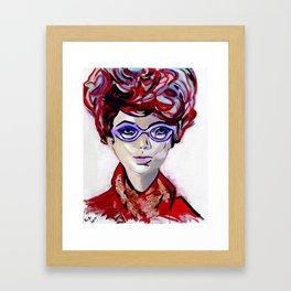 Judy by Varda Levy Framed Art Print