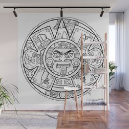 Pencil Wars Shield Wall Mural