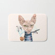Sphynx Cat II Bath Mat