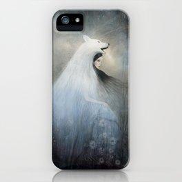 wolf princess iPhone Case