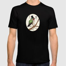 Oh How Lovely it Would Be Mens Fitted Tee Black MEDIUM