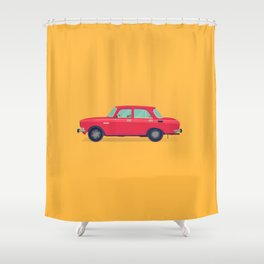 Moskvich 412 Shower Curtain