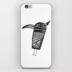 Party Bird iPhone & iPod Skin