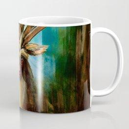 Princess Mononoke The Deer God Shishigami Tra Digital Painting. Coffee Mug