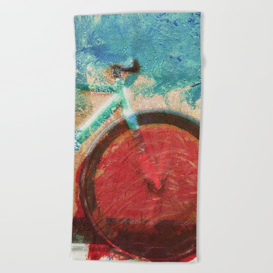 By Bike Beach Towel