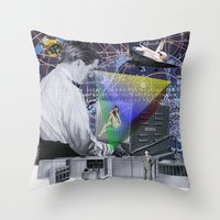 fig Throw Pillows featuring Fig.2. by TRASH RIOT